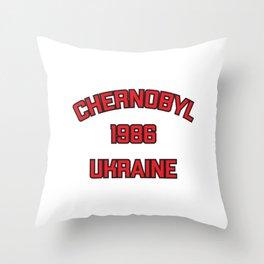 Chernobyl, Ukraine, 1986 Throw Pillow