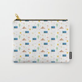 Mexico Themed Pattern Carry-All Pouch