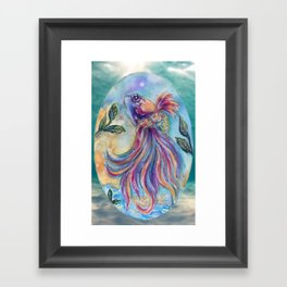 Rainbow Fish Framed Art Print