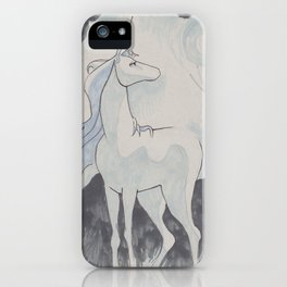 The Last Unicorn iPhone Case