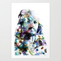 jack sparrow Art Prints featuring Jack Sparrow by NKlein Design