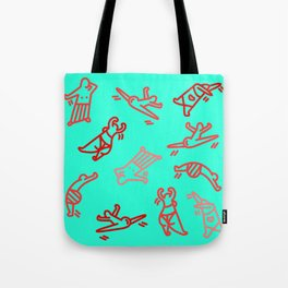 Dance In Your (Blue) Pants Tote Bag