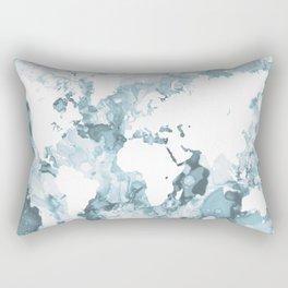 Design 103 World Map Rectangular Pillow