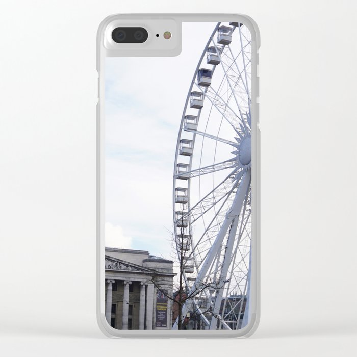 Wheel of Nottingham Clear iPhone Case