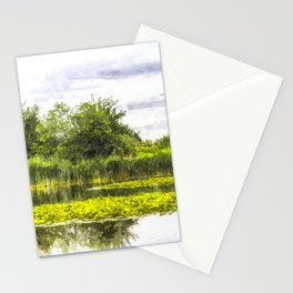 The Lily Pond Art Stationery Cards