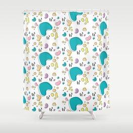 Jellybean Shower Curtain