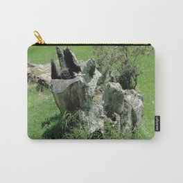 green stump Carry-All Pouch