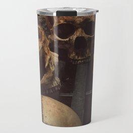 Catacomb Culture - Human Skull Basement Travel Mug
