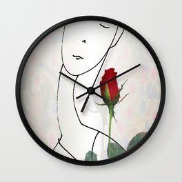 A non-word mood Wall Clock