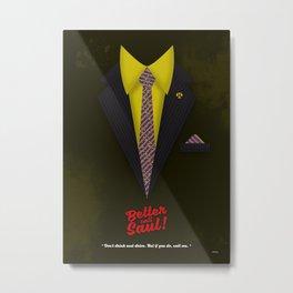 "Better Call Saul - Suit No. #6 - James Morgan ""Jimmy"" McGill's Style. Metal Print"