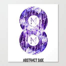 Vinyl abstract Canvas Print