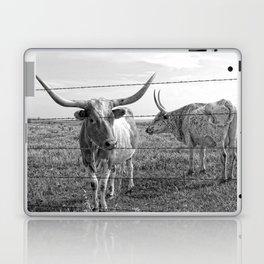 Longhorn Cows Laptop & iPad Skin