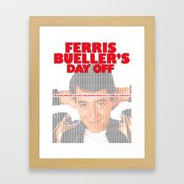 Bueller?  Bueller? Framed Art Print