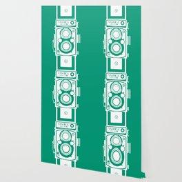 Yashica Mat 124G Camera Emerald Wallpaper