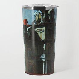 The House By The Railroad By Edward Hopper 1925 Travel Mug