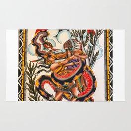 Bert Grimm's Serpent Girl Rug