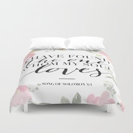 Song of Solomon 3:4 Duvet Cover