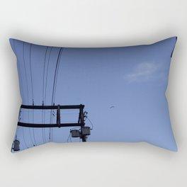 Birds and the Tower Rectangular Pillow