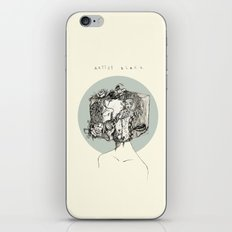 art block iPhone & iPod Skin
