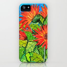 Gerbera Daisies iPhone Case