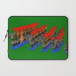 Roosters of Barcelos Laptop Sleeve