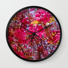 The First of Spring Wall Clock