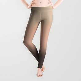 Chocolate strawberry ice cream Leggings