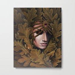 Mabon - goddess of fall Metal Print
