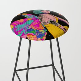 Happiness is a butterfly Bar Stool