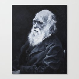 Darwin Oil Painting Canvas Print