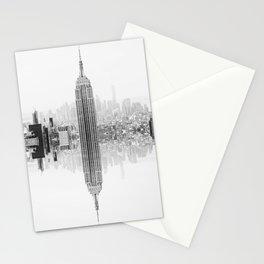 Skyline New York Architecture City Stationery Cards