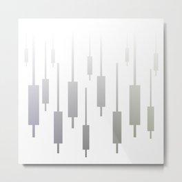 Modern geometric background #society6 #decor #buyart #artprint Metal Print