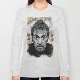 Al Pacino - Caricature Long Sleeve T-shirt