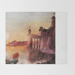 Part of Your World Throw Blanket