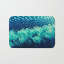 abstract sea Bath Mat