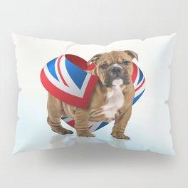 English Bulldog Puppy Pillow Sham