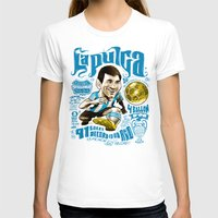 argentina T-shirts featuring Pulga Argentina by Gonza Rodriguez