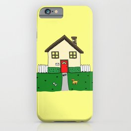 normal girl iPhone Case