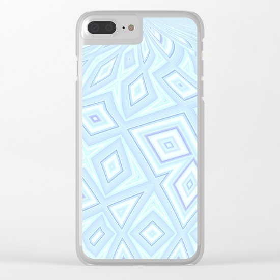 Psychedelic Diamonds Clear iPhone Case