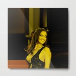 Irina Shayk - Celebrity - Smiling Kill (Photographic Art) Metal Print