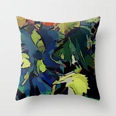 Garden Colors Throw Pillow
