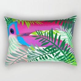 Toucan Lovers Rectangular Pillow