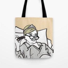 Lady Morgan Tote Bag
