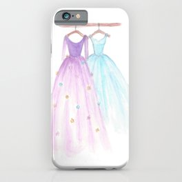 Two Dresses 2 iPhone Case