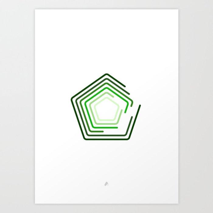 Pentix Art Print