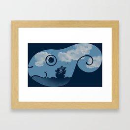 Adventure Friend Framed Art Print