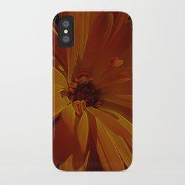 orange explosion iPhone Case