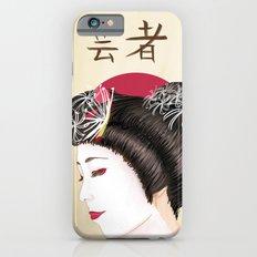 Geisha - Painting iPhone 6s Slim Case