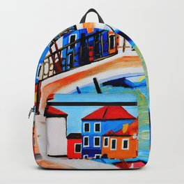 Colors of Venice Italy Backpack