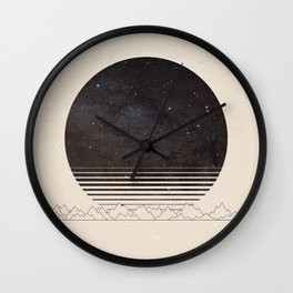 Spacescape Variant Wall Clock